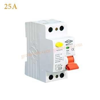 تصویر محافظ جان تکفاز 25A الکترو کاوه residual-current circuit breaker(RCCB) KAVEH 25A