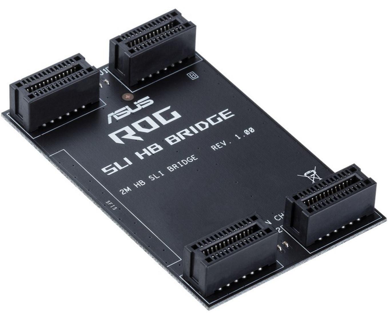 تصویر خرید پل SLI مدل ASUS HB Bridge برای گرافیک Nvidia