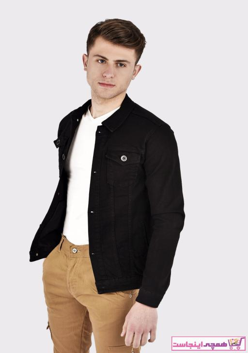 تصویر خرید اینترنتی ژاکت جین مردانه برند Lose Jeans رنگ مشکی کد ty34437557