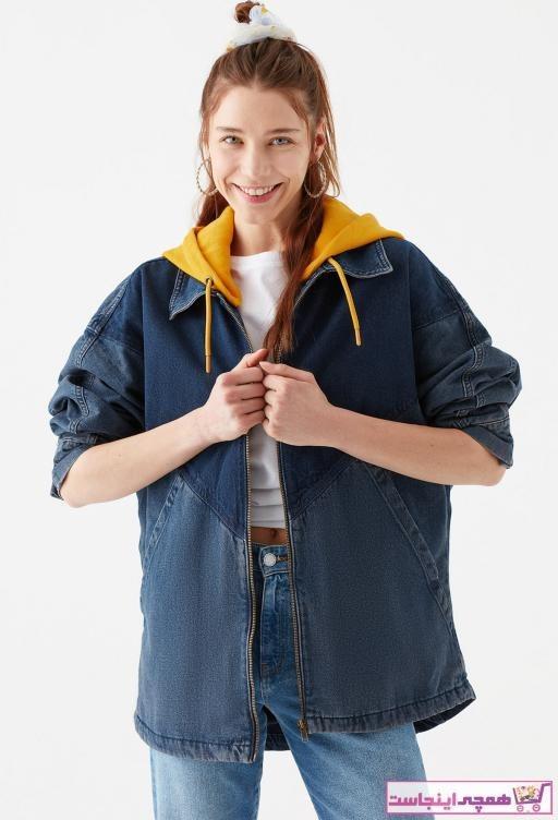 تصویر ژاکت زنانه مدل برند ماوی رنگ آبی کد ty90605480