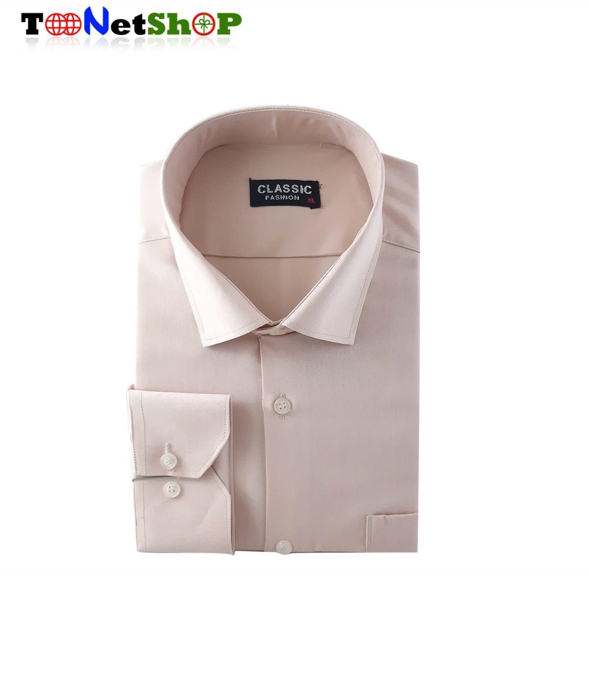تصویر پیراهن کرم مردانه کد 2021