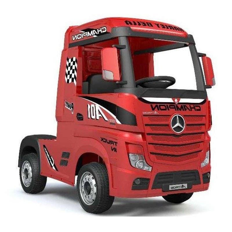 تصویر ماشین شارژی کامیون بنز مدل آکتروس فول آپشن