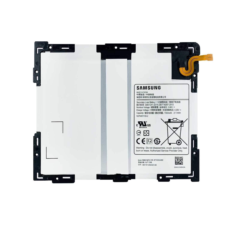 تصویر باتری تبلت سامسونگ Samsung Galaxy Tab A2 10.5 inch با کد فنی EB-BT595ABE