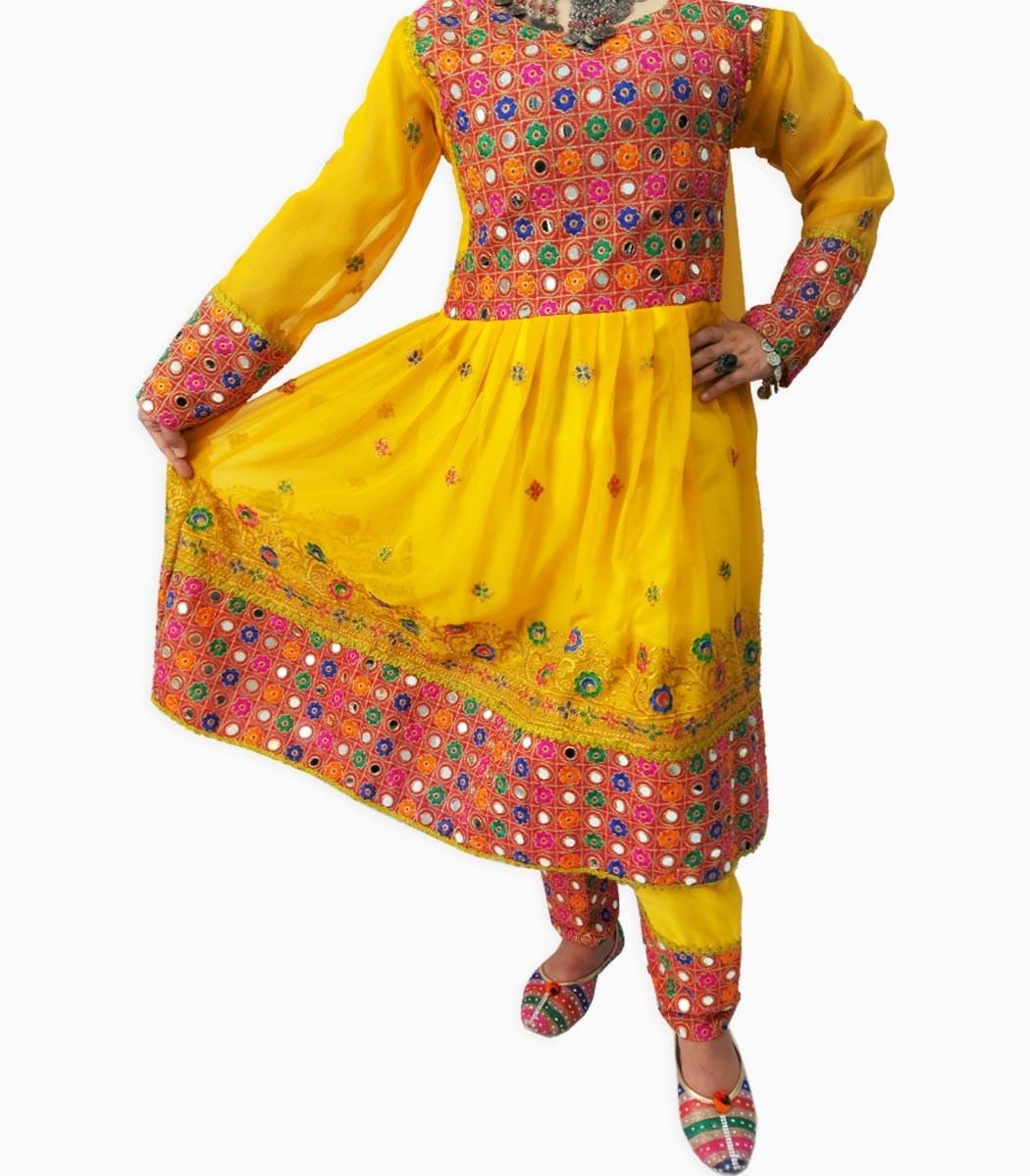 تصویر لباس گند افغانی کد KH-01041