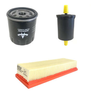 فیلتر روغن خودرو آرو مدل 50730 مناسب برای سمند به همراه فیلتر هوا و فیلتر سوخت |