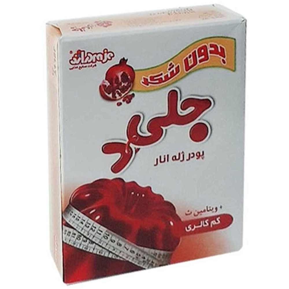 تصویر پودر ژله رژیمی باطعم انار دراژه 25 گرمی -