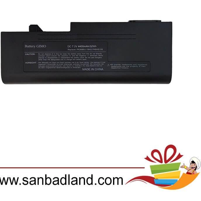 تصویر باتری لپ تاپ توشیبا Toshiba PA3689U