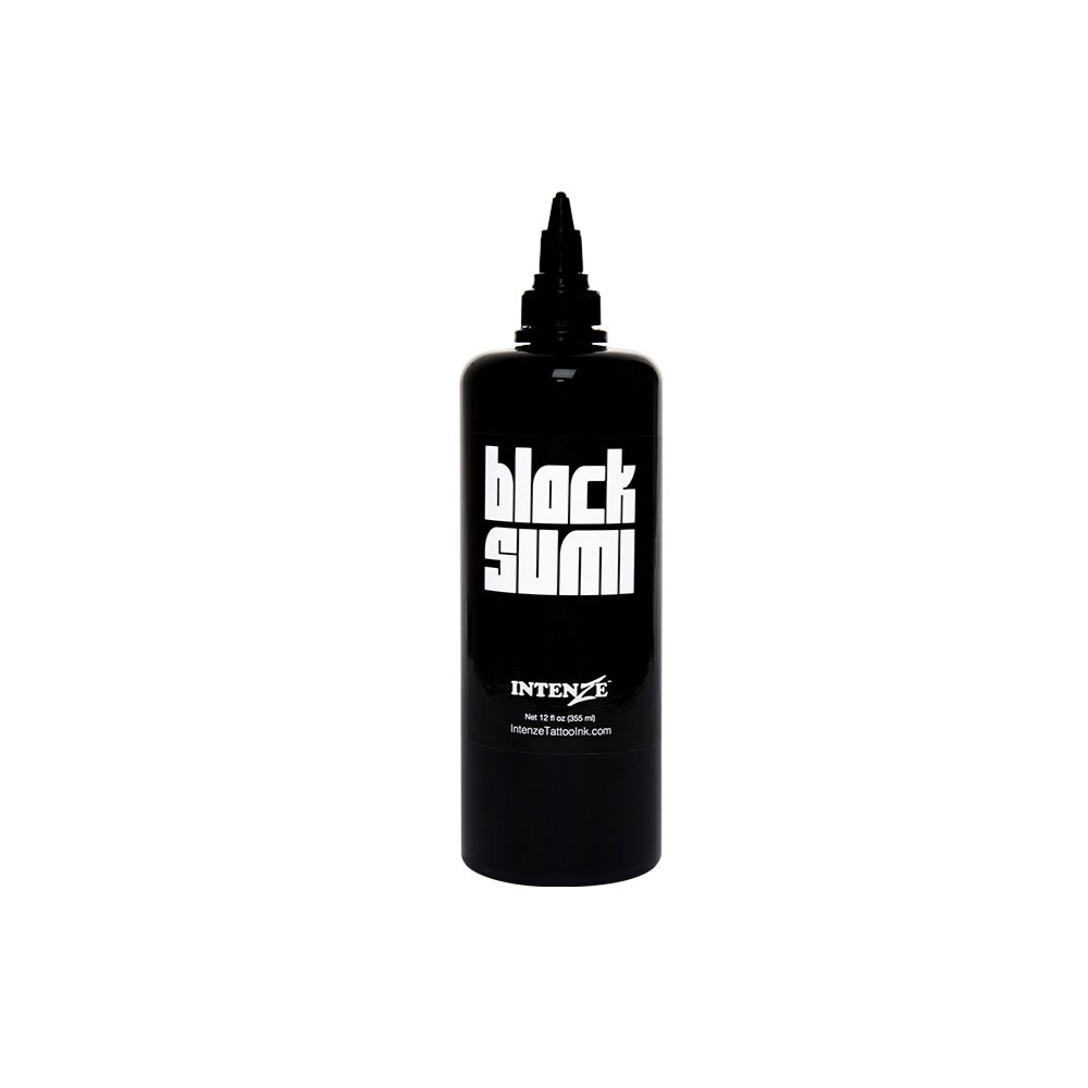 تصویر رنگ تاتو اینتنز Black Sumi رنگ تاتو اینتنز Black Sumi