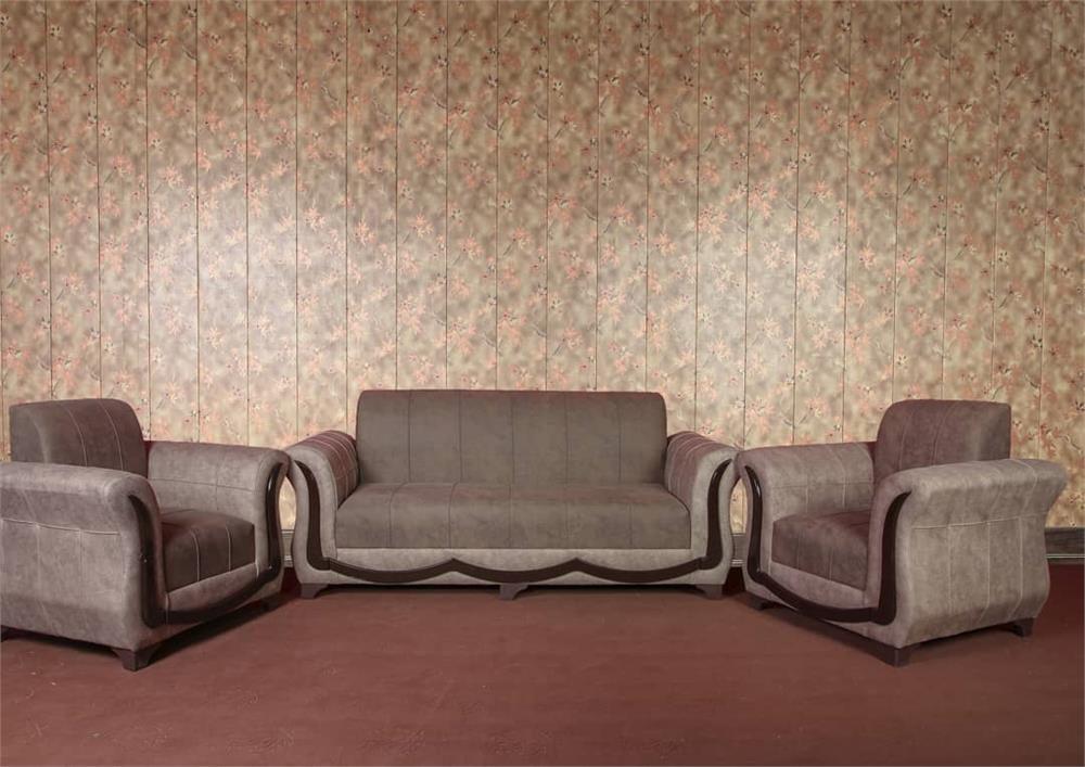 تصویر مبل مدل میخک 7نفره راحتی با پارچه ملیتا و اونتوس Comfortable carnation sofa for 7 people with Melita and Ontus fabric