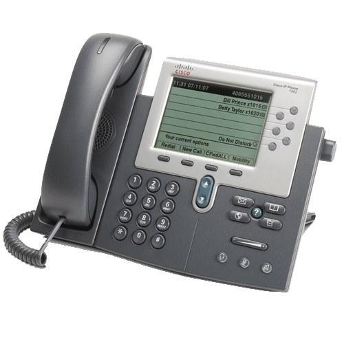 تصویر آی پی فون سیسکو CP-7962G Cisco-IP-Phone-CP-7962G