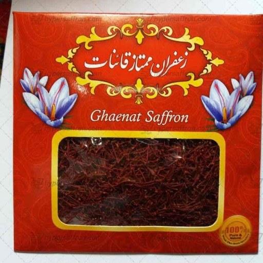 زعفران قائنات یک مثقالی ( 4/6 گرم)