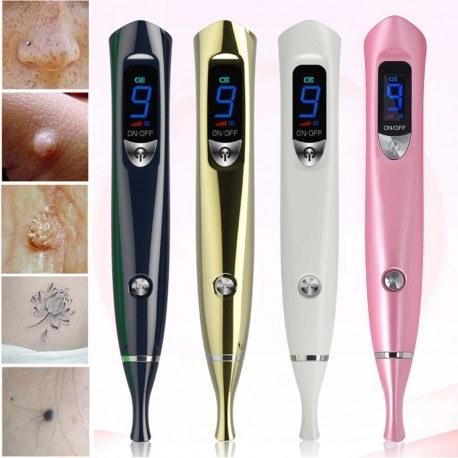 دستگاه پلاسما پن (بیوتی پن) 9 قدرته 2 چراغه ساخت آلمان Laser Freckle 9 Level Tattoo Plasma Pen