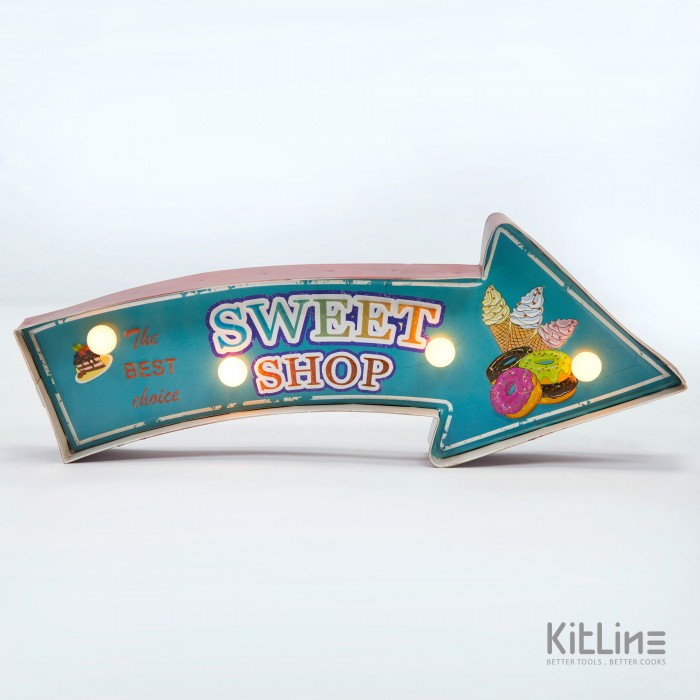 تابلو LED مدل Sweet shop
