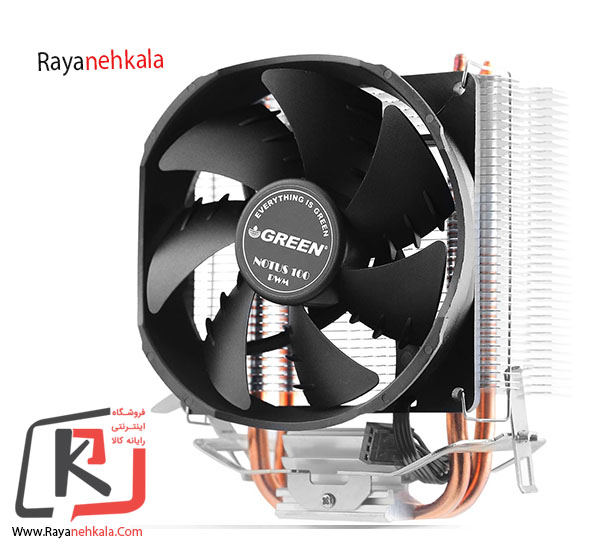 تصویر Cooling System Green NOTUS 100-PWM سیستم خنک کننده پردازنده گرین مدل NOTUS 100-PWM