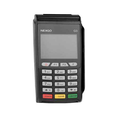 تصویر پایانه فروشگاهی سیار (POS) نکس گو مدل G3 Nexgo G3 Portable POS Terminal