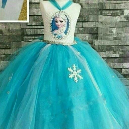 لباس پرنسسی السا