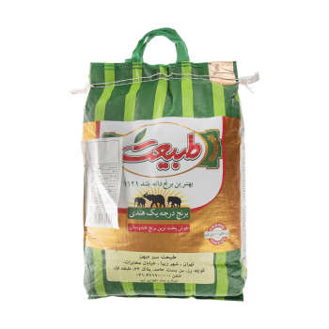 برنج طبیعت مقدار 10 کیلوگرم   Tabiat Rice 10 kg