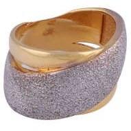 انگشتر طلا 18 عیار زنانه گوی گالری کد G366 |