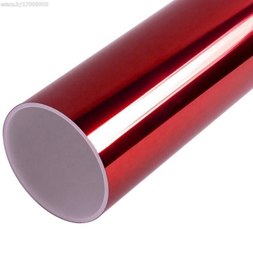 عکس استیکر حرارتی (کاور بدنه خودرو) قرمز براق کد009  استیکر-حرارتی-کاور-بدنه-خودرو-قرمز-براق-کد009