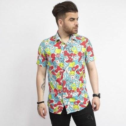پیراهن طرح استیکر |