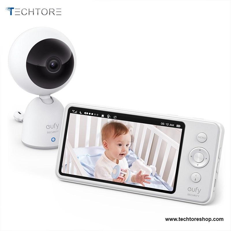 تصویر دوربین کنترل اتاق کودک + نمایشگر مدل eufy T83211D1