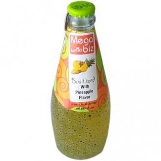 تصویر نوشیدنی تخم شربتی با طعم هلو مگابیز
