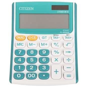 تصویر ماشین حساب سیتیزن مدل FC-600NGR Citizen FC-600NGR