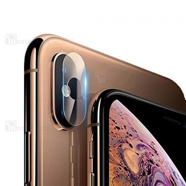محافظ لنز دوربین شیشه ای موبایل مناسب Apple iPhone XS Max