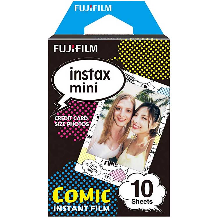 کاغذ پرینتر Fujifilm instax mini Comic Instant Film