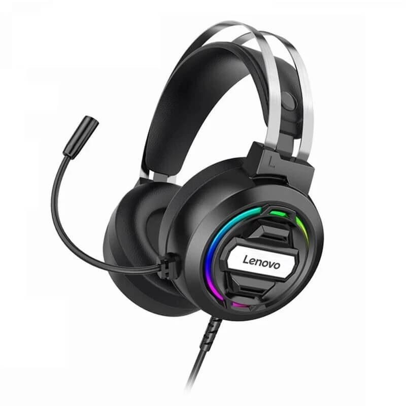 تصویر هدست گیمینگ سیم دار Lenovo H401 ا Lenovo H401 Gaming headset Lenovo H401 Gaming headset