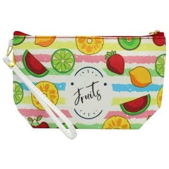کیف لوازم آرایش زنانه طرح میوه کد IDM 157  