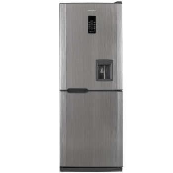 یخچال فریزر هیمالیا مدل کمبی 530 نقره ای نوفراست آبسردکن دار | Himalia Combi-530 Silver No Frost Refrigerator With Water Dispenser