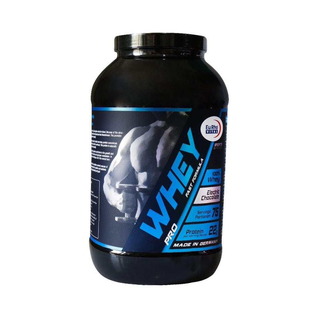 تصویر وی پروتئین پرو یوروویتال 2250 گرم EuRho Vital Whey Pro 2250 g