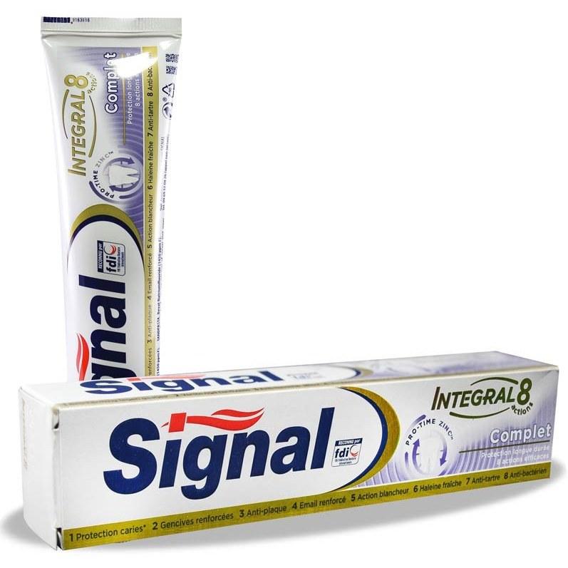 خمیر دندان اینتگرال ۸ کامپلیت سیگنال Signal Integral 8 Complete