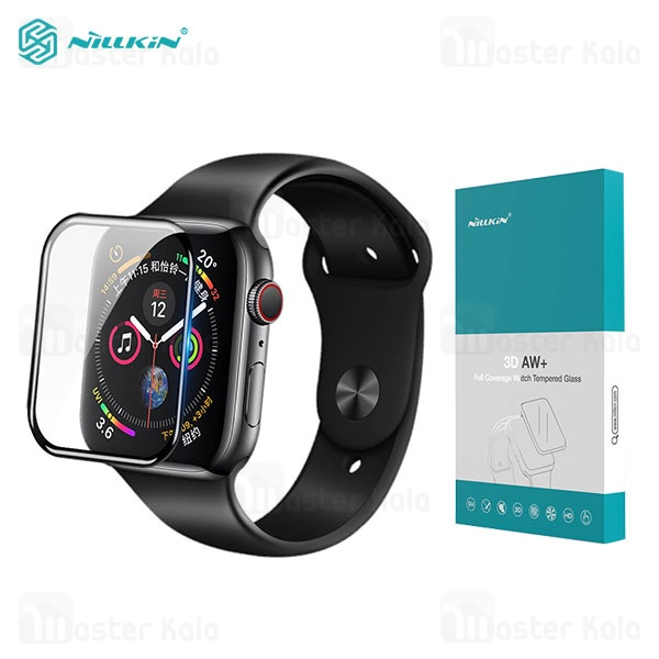 محافظ صفحه شیشه ای تمام صفحه نیلکین اپل واچ Apple Watch Series 1 / 2 / 3 38mm Nillkin 3D AW+ Glass