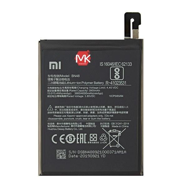 تصویر باتری اورجینال شیائومی Redmi Note 6 Pro مدل BN48 ظرفیت 4000 میلی آمپر ساعت Xiaomi Redmi Note 6 Pro - BN48 4000mAh Original Battery
