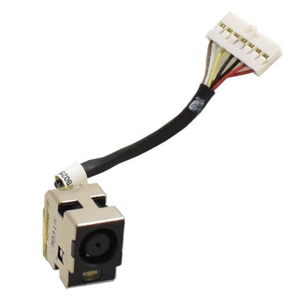 تصویر سوکت شارژ کد 324 لپ تاپ اچ پی پاویلیون DV5 HP Pavilion DV5 DC jack connector replacement