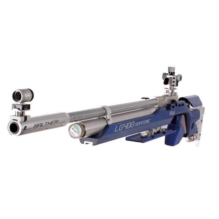 تصویر تفنگ پی سی پی مسابقاتی والتر ال جی 400 آناتومیک | Walther LG400 Anatomic Competition PCP Air Rifle