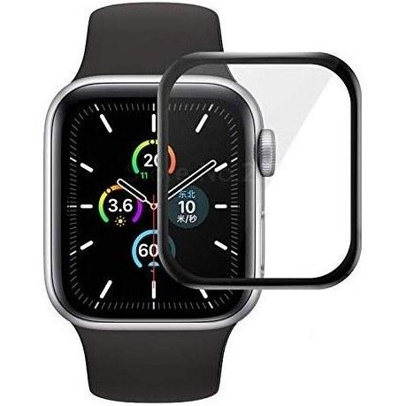 محافظ صفحه نمایش گلس مناسب برای ساعت هوشمند اپل۵  ۴۰ میلیمتر
