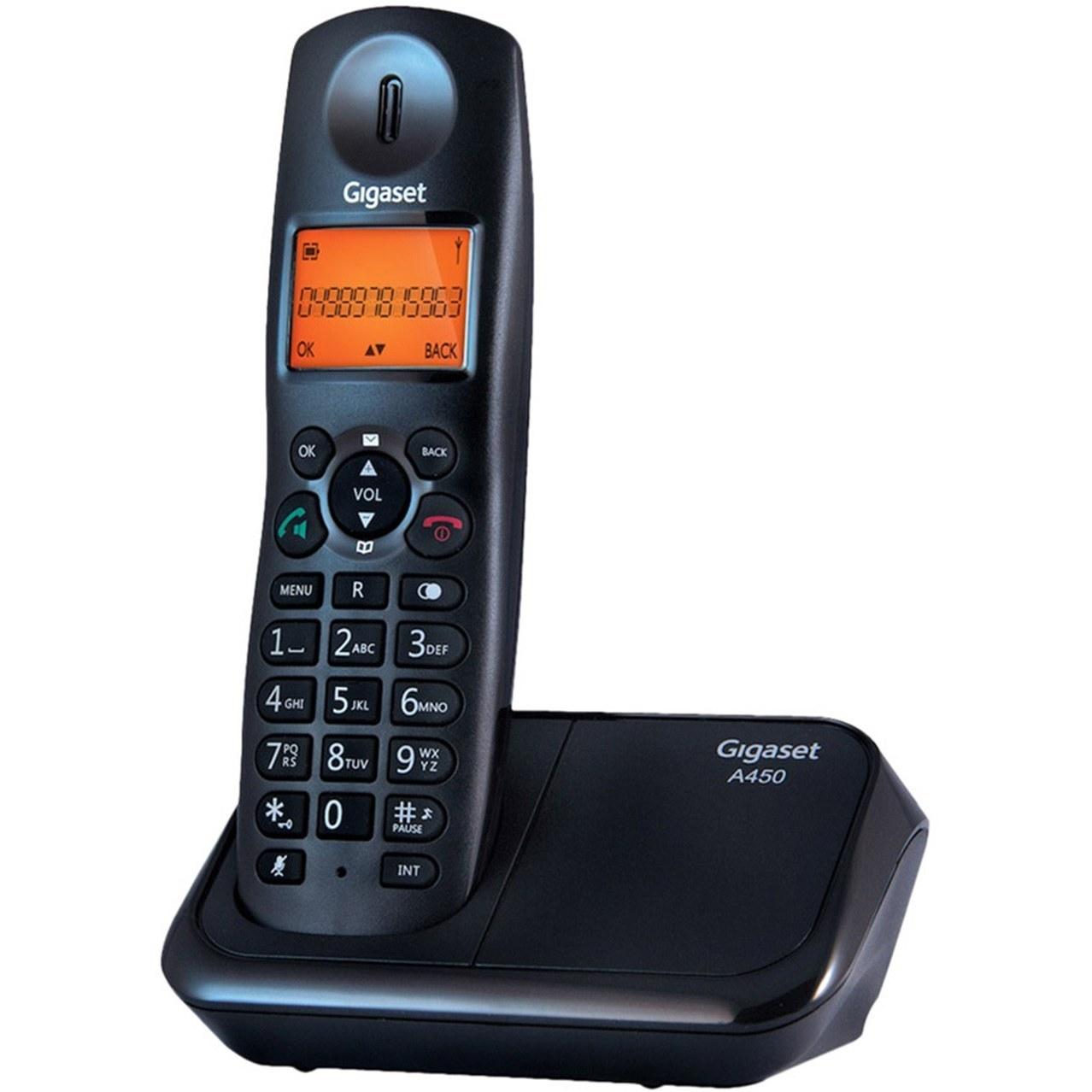 تصویر تلفن بی سیم گیگاست مدل A450 Gigaset A450 Wireless Phone
