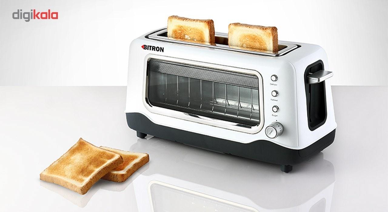 img توستر بایترون مدل TO-80P Bitron TO-80P Toaster