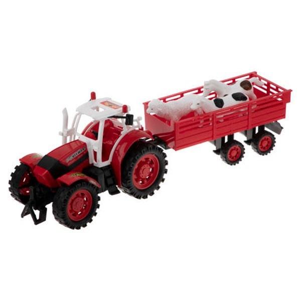 ماشین اسباب بازی تراکتور مزرعه درج توی