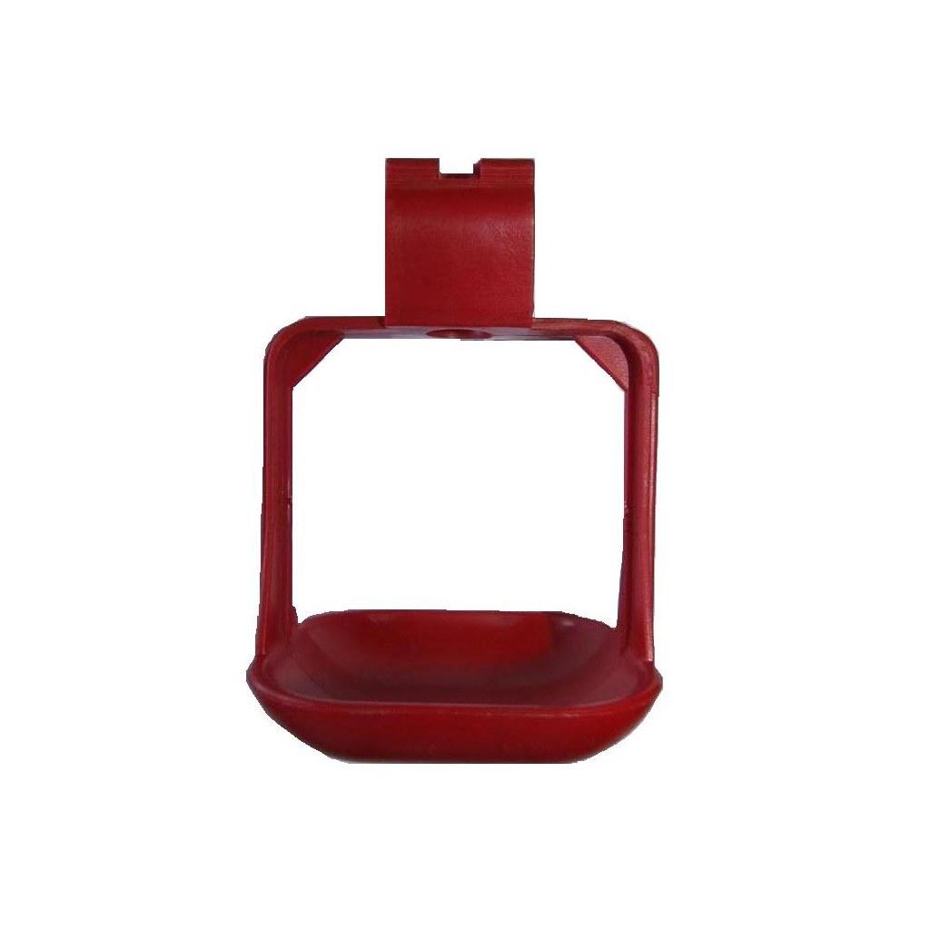 تصویر کاسه آبخوری نیپل دو پایه کوچک پارس مخصوص بلدرچین Quail Nipple Drinker Cup