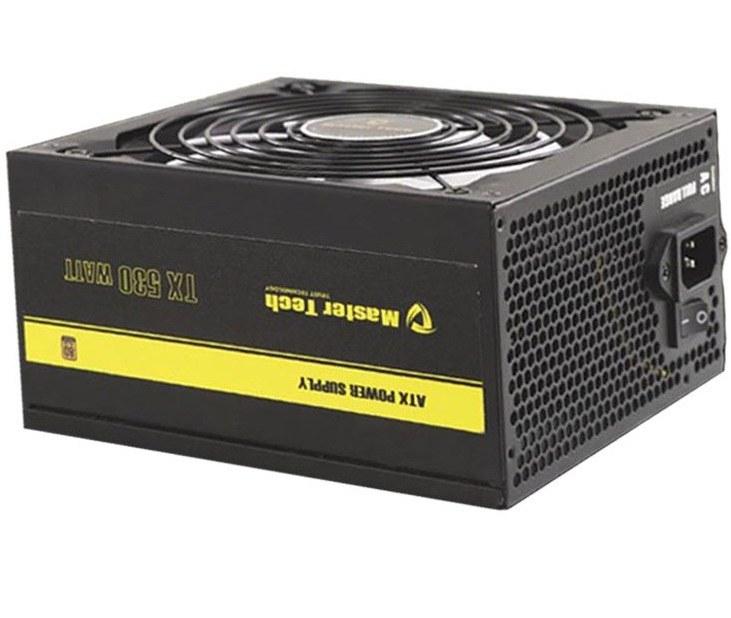 main images پاور مسترتک مدل تی ایکس 530 وات پاور مسترتک TX530 W 80PLUS Bronze Power Supply