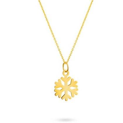 گردنبند طلا زنانه کد ۱۰۶-A94