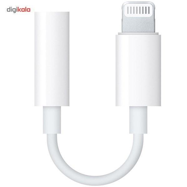 img مبدل لايتنينگ به جک 3.5 ميلي متري هدفون اپل Apple Lightning To 3.5mm Headphone Jack Adapter