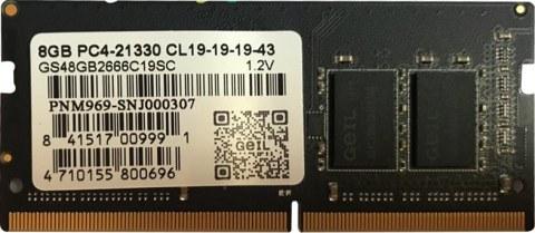 عکس رم لپ تاپ 8 گیگابایت DDR4 Geil مدل GS48GB2666C19SC  رم-لپ-تاپ-8-گیگابایت-ddr4-geil-مدل-gs48gb2666c19sc