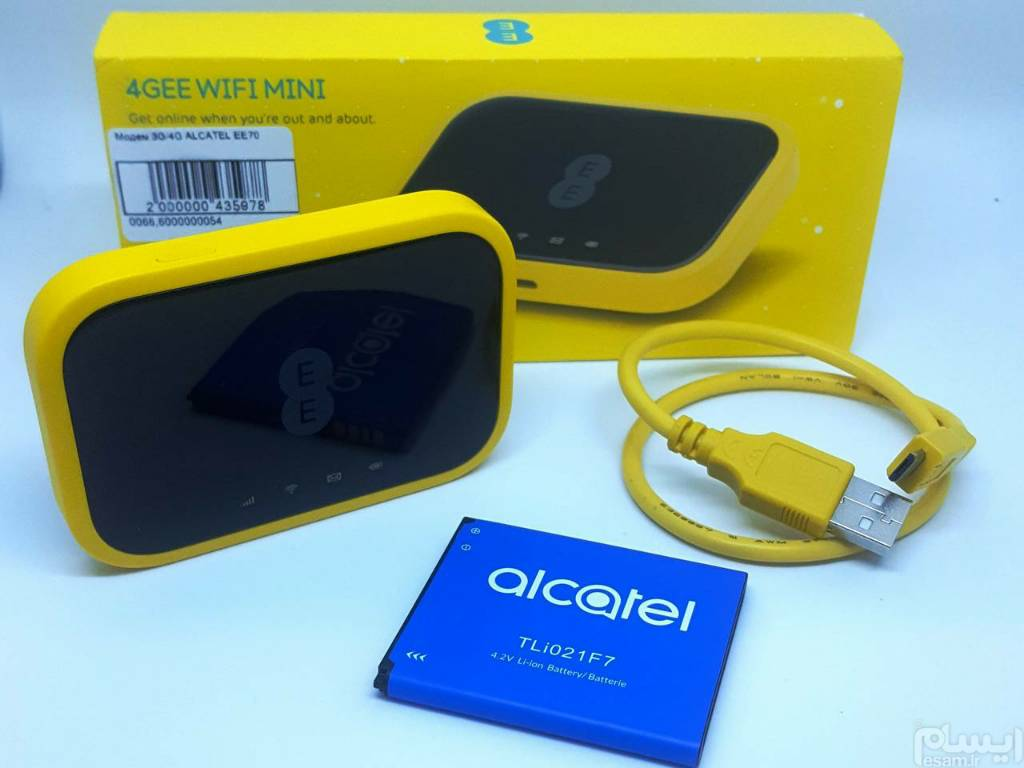 تصویر مودم 4.5G قابل حمل آلکاتل مدل EE70 (Modem Alcatel EE70 Portable)