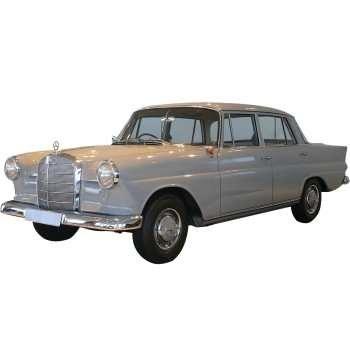 خودرو مرسدس بنز C190 دنده ای سال 1965 | Mercedes Benz C190 1965 MT