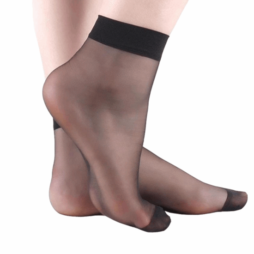 عکس جوراب زنانه پارازین مشکی  جوراب-زنانه-پارازین-مشکی